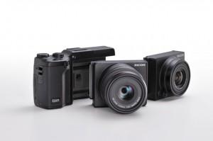 リコー、ユニット交換カメラ「GXR」