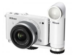 Nikon 1 J3への装着例