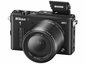 「Nikon 1 AW1」のブラックカラー