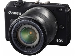 EOS-M2にEF-M 18-55mm F3.5-5.6 IS STMを装着