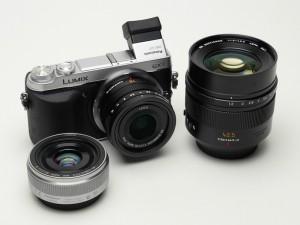 LUMIX DMC-GX7とその交換レンズ(デジカメWatch)