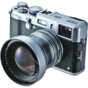 「FUJIFILM X100S/X100」が50mm相当になるテレコン