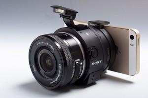 本体+レンズ+iPhone 5s