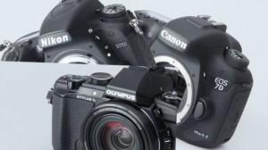 EOS 7D Mark II・D750・STYLUS 1s