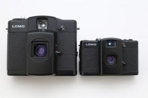 LC-A+(右)をそのままノッポにしたような風貌のLC-A 120(左)