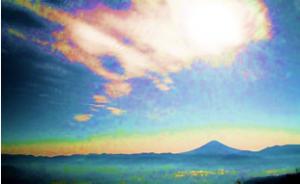富士の彩雲・甘利山(平成23年11月1日)