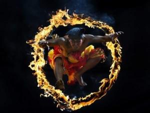 インドネシアの民族舞踊「Bujang Ganong」