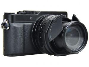 LUMIX LX100用の自動開閉レンズキャップ