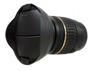 レンズキャップ内蔵フード「Hoocap」