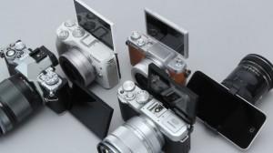 5機種の感度&キットレンズの画質を検証