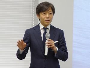 シグマ山木社長自らが就職説明会でプレゼン