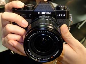 FUJIFILM X-T10の先行体感イベント
