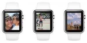 watchOS 2「写真」文字盤のイメージ