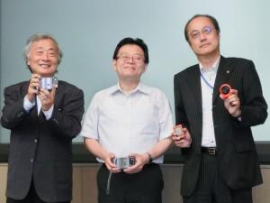 対談のメンバー。左から麻倉怜士氏、末高弘之氏、中山仁氏