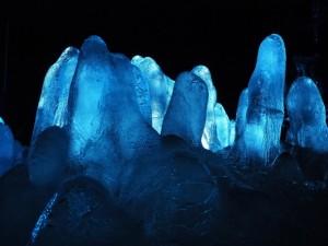 「氷の洞窟」の写真を撮ってみた