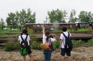 「写真甲子園」撮影中