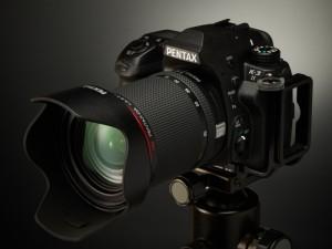 HD PENTAX-DA 16-85mmF3.5-5.6ED DC WRを装着したK-3 II
