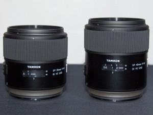 タムロン、フルサイズ用大口径単焦点レンズ2本を発表
