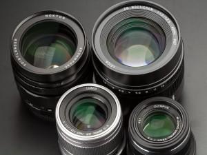 マイクロフォーサーズの大口径中望遠レンズ
