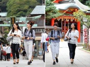 デジカメとSurface 3 を持って鎌倉周辺ぶらり旅