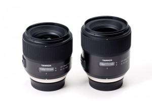 左からSP 35mm F:1.8 Di VC USD(Model F012)、SP 45mm F:1.8 Di VC USD(Model F013)