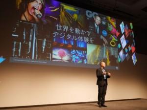 佐分利ユージン代表取締役社長の挨拶から始まったADOBE Live