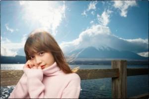 モデル:松田るかさん