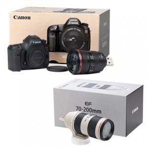 ミニチュアカメラ 5Dsとミニチュアレンズ2本セット