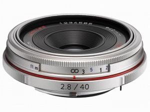 HD PENTAX-DA 40mmF2.8 Limited(シルバー)