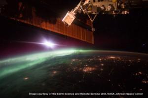 宇宙から見たオーロラ展2016