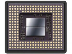 メモリー一体1.0型積層型Exmor RS CMOSセンサーの裏面